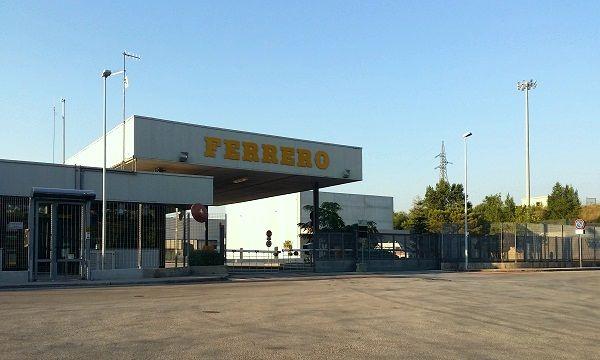 Lo stabilimento Ferrero di Sant'Angelo dei Lombardi (AV)