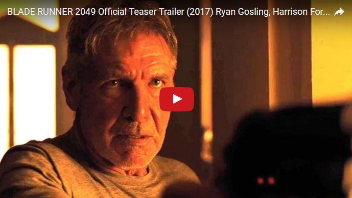 Blade Runner 2049: primo trailer e sinossi del film