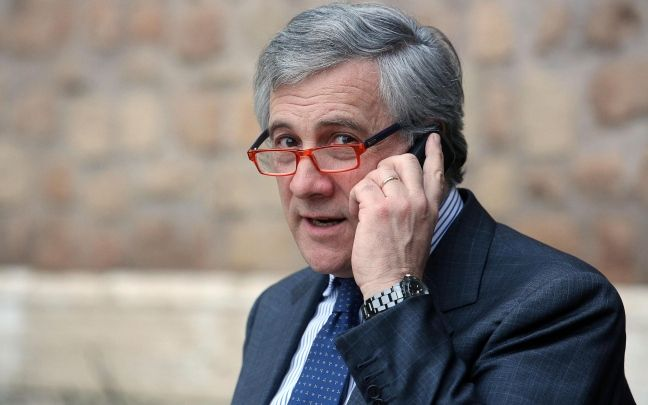 Il forzista Antonio Tajani è il nuovo presidente del Parlamento europeo