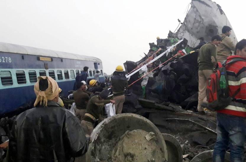 India, deraglia un treno: almeno 32 morti Centro persone sono rimaste ferite