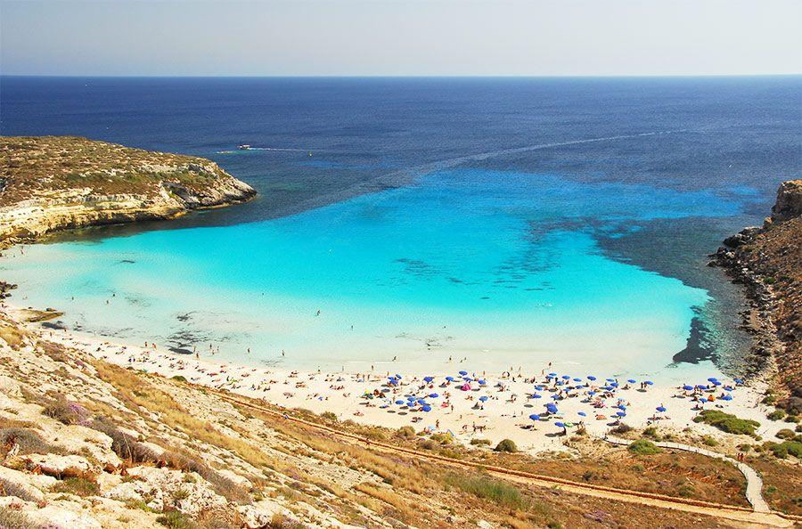 Lampedusa, la spiaggia dei Conigli proclamata da TripAdvisor