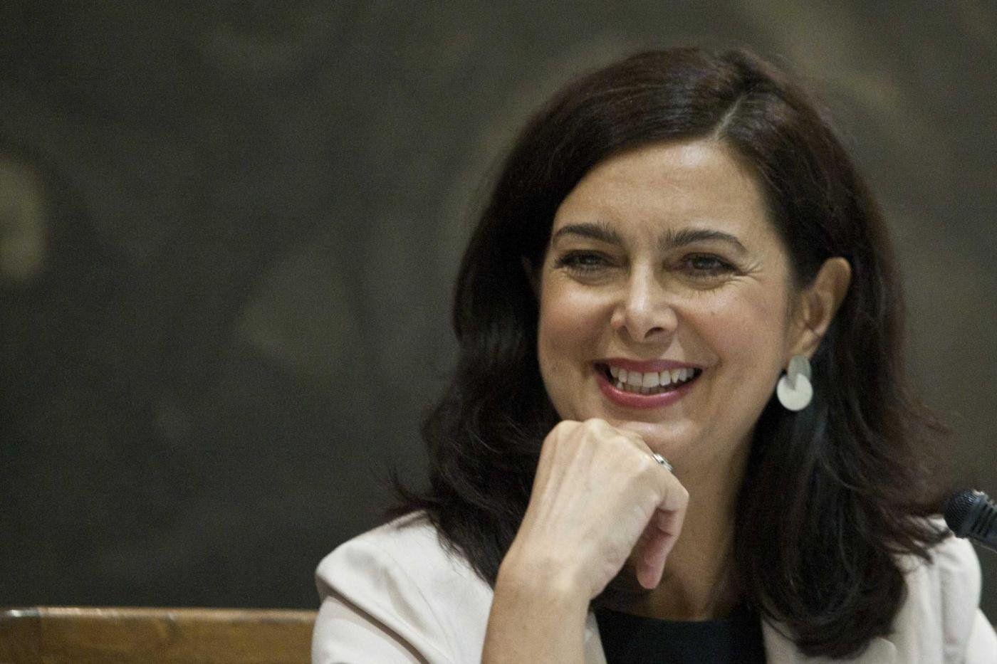 La presidente Laura Boldrini ricoverata in ospedale per un intervento chirurgico