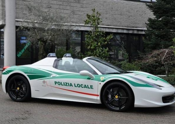Alla Polizia Locale milanese una Ferrari confiscata